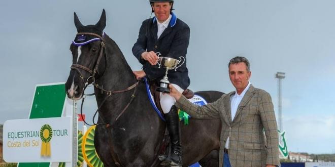 William Funnell (GBR) mit Billy Congo beim Winter Cup in Mijas