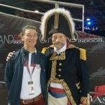 Pedro Cebulka und Édouard de Rothschild - Paris Masters 2013