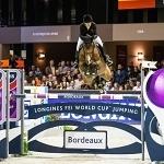 JUMPING Bordeaux CSI 5* Bordeaux 2016. LONGINES FEI World Cup. Edwina TOPS-ALEXANDER (AUS) Caretina de Joter Pic Eric Knoll