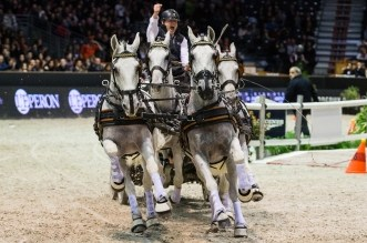 FEI World Cup Driving Final by Equidia Life - Ijsbrand Chardon