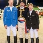 Christian Ahlmann, Pedro Cebulka und Marcus Ehning - Paris Masters 2013