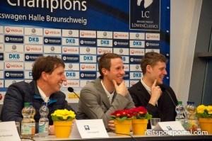 Dirk Klapproth, Christian Kukuk und Jasper Kools (Foto: Silvia Reiner)