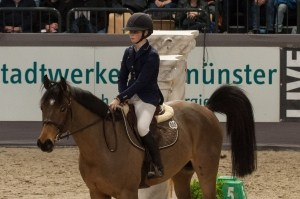Sanne Thijssen mit Con Quidam (VR Classics 2017), Foto: Silvia Reiner