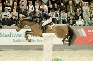 Sanne Thijssen mit Con Quidam (VR Classics 2017), Foto: Hans-Joachim Reiner