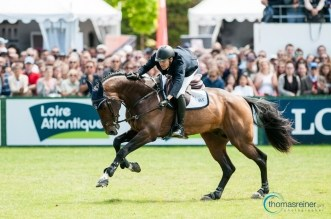 Pedro Junqueira Muylaert wins the Grand Prix Longines - Ville de La Baule, France (Foto:Thomas Reiner)