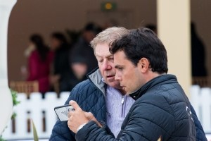 Sergio Alvarez Moya und Olympiasieger Nick Skelton