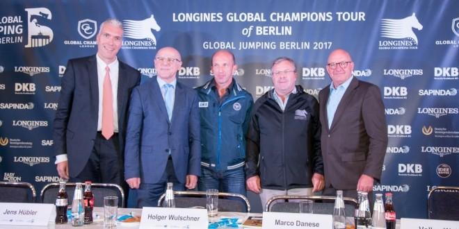 Auftaktpressekonferenz, Global Jumping Berlin2017 (Foto:Hans-Joachim Reiner)