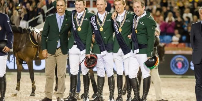 Das irische Gold-Team (Foto:Hans-Joachim Reiner)