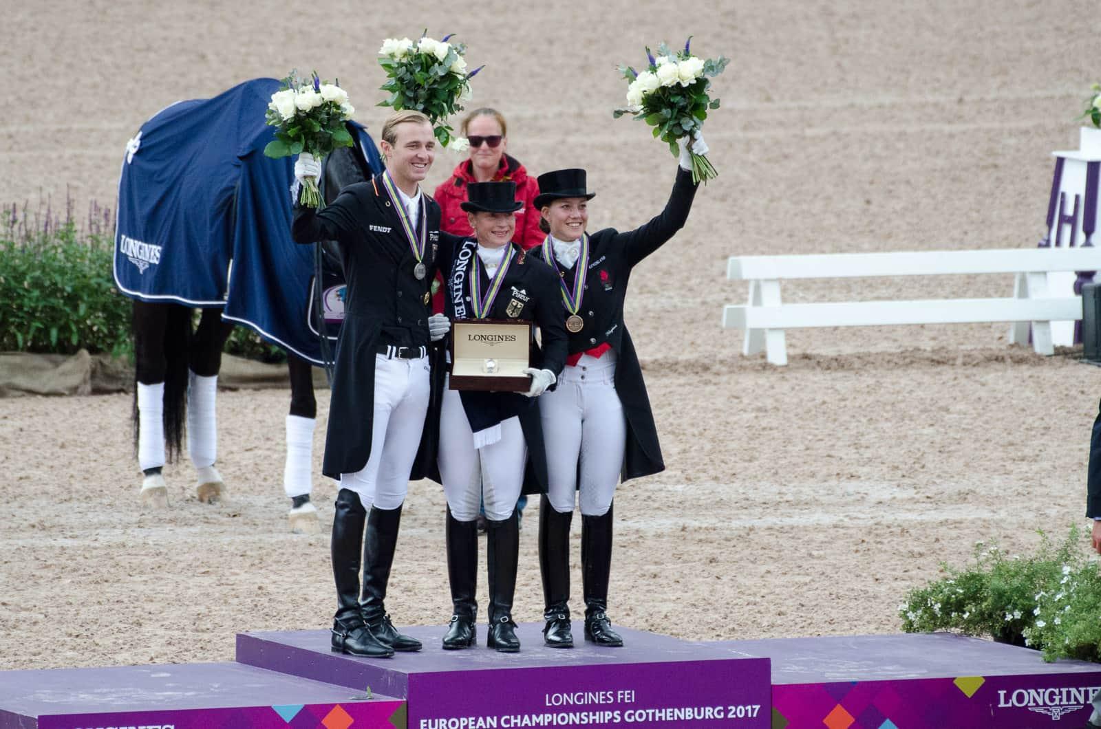 Isabell Werth holt ihre siebzehnte Goldmedaille bei ...
