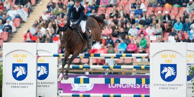 Douglas Lindelöw mit Zacramento (Fotos: Thomas Reiner)