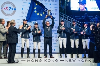 Team Europe - Sieger im RIDERS MASTERS CUP (Foto: Thomas Reiner)