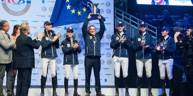Team Europe - Sieger im RIDERS MASTERS CUP (Foto: Thomas Reiner)