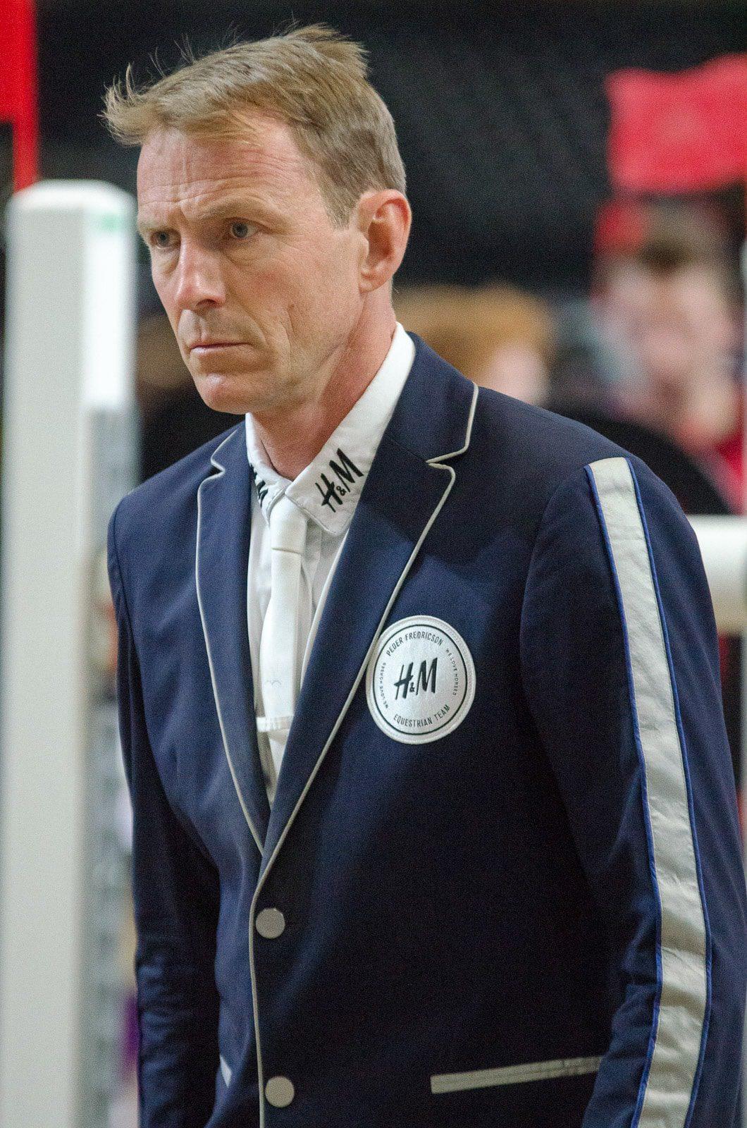 Peder Fredricson (SWE), der Europameister von Göteborg