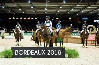 Sieger und Platzierte im DEVOUCOUX Indoor Derby (Foto: Thomas Reiner)