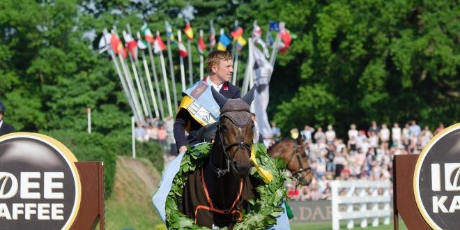 Matthew Sampson - der Sieger im 89. Deutschen Springderby 2018 (Foto:Hans-Joachim Reiner)