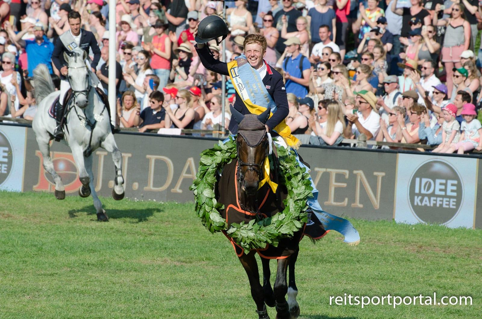 Matthew Sampson - der Sieger im 89. Deutschen Springderby