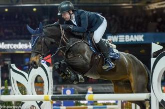 Max Wachman, der Sieger in der FEI Jumping Ponies'Trophy (Foto: Hans-Joachim Reiner)