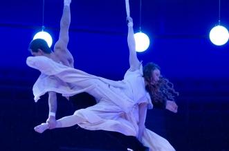 Showprogramm des Cirk La Putyka (Foto: Silvia Reiner)