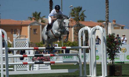 Guillaume Foutrier  erneut erfolgreich bei der MET III  in Oliva Nova