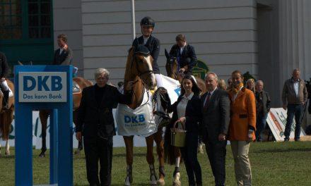 Großer Preis der Deutschen Kreditbank AG beim Pferdefestival Redefin 2016