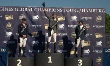 Ludger Beerbaum siegt in der Global Championstour in Hamburg