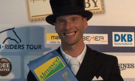 Sieg für Borja Carracosa im Dressur-Derby von Hamburg