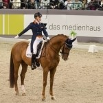 Madeleine Witte-Vrees (NED) mit Cennin