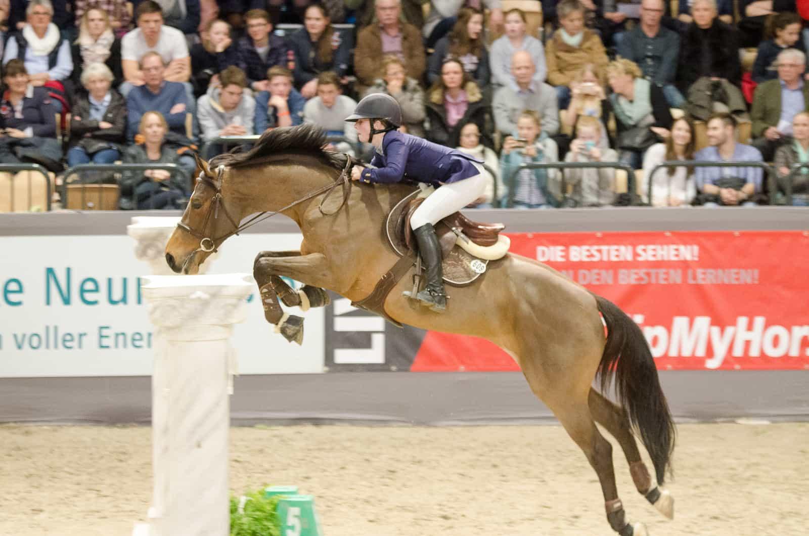 Signal Iduna Cup 2017 – Sanne Thijssen (NED) siegt im Großen Preis der Bundesrepublik Deutschland