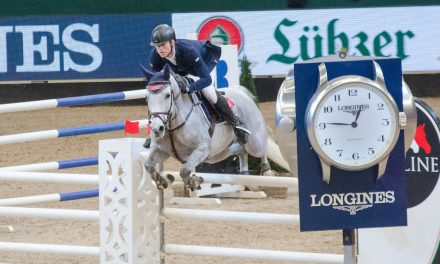 Partner Pferd 2018:  Equiline Youngster Cup 2. Qualification for 8year old horses