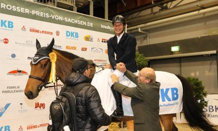 Daniel Meech siegt im Championat der DKB in Chemnitz