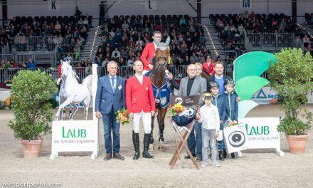 Dominik Hieber siegt in der Qualifikationsprüfung zum Finale der Amateur-Spring-Reiter-Club-Trophy 2018