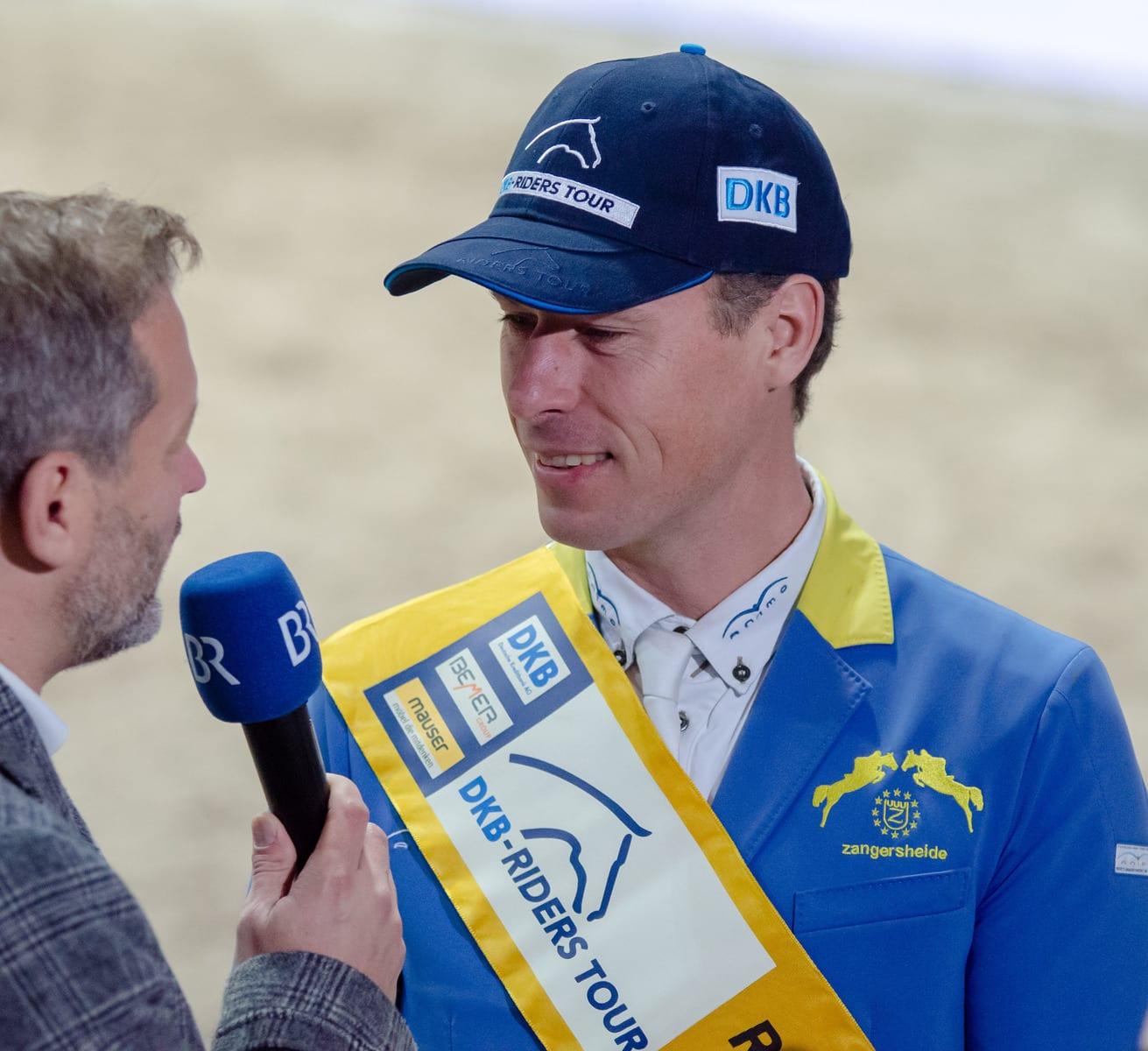 Christian Ahlmann im Siegerinterview