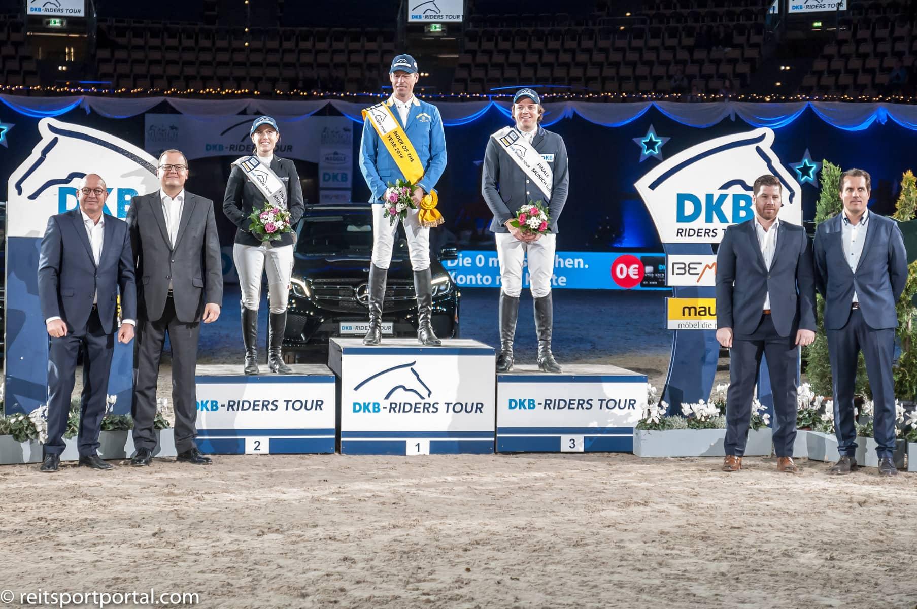 Rider of the Year Siegerehrung