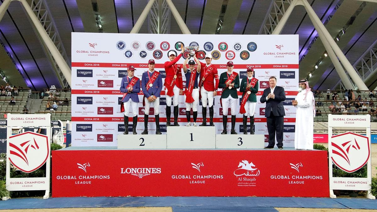 Finale der LONGINES Global Champions League 2018 in Doha