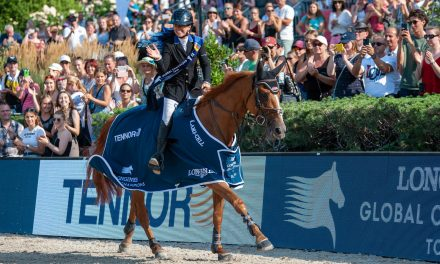 Dani G. Waldman und Lizziemary siegen Im LONGINES Global Champions Tour Grand Prix of Berlin