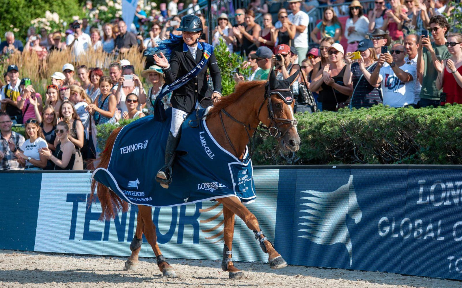 Dani G. Waldman und Lizziemary siegen Im LONGINES Global Champions Tour Grand Prix of Berlin