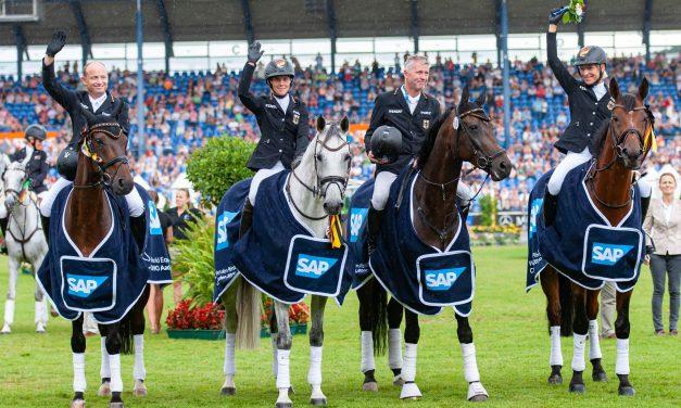 CHIO 2019: SAP-Preis für Ingrid Klimke und das deutsche Team
