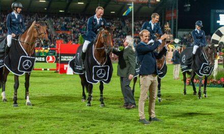 Mercedes Benz Nationenpreis: Schwedischer Sieg in Aachen nach 90 Jahren…