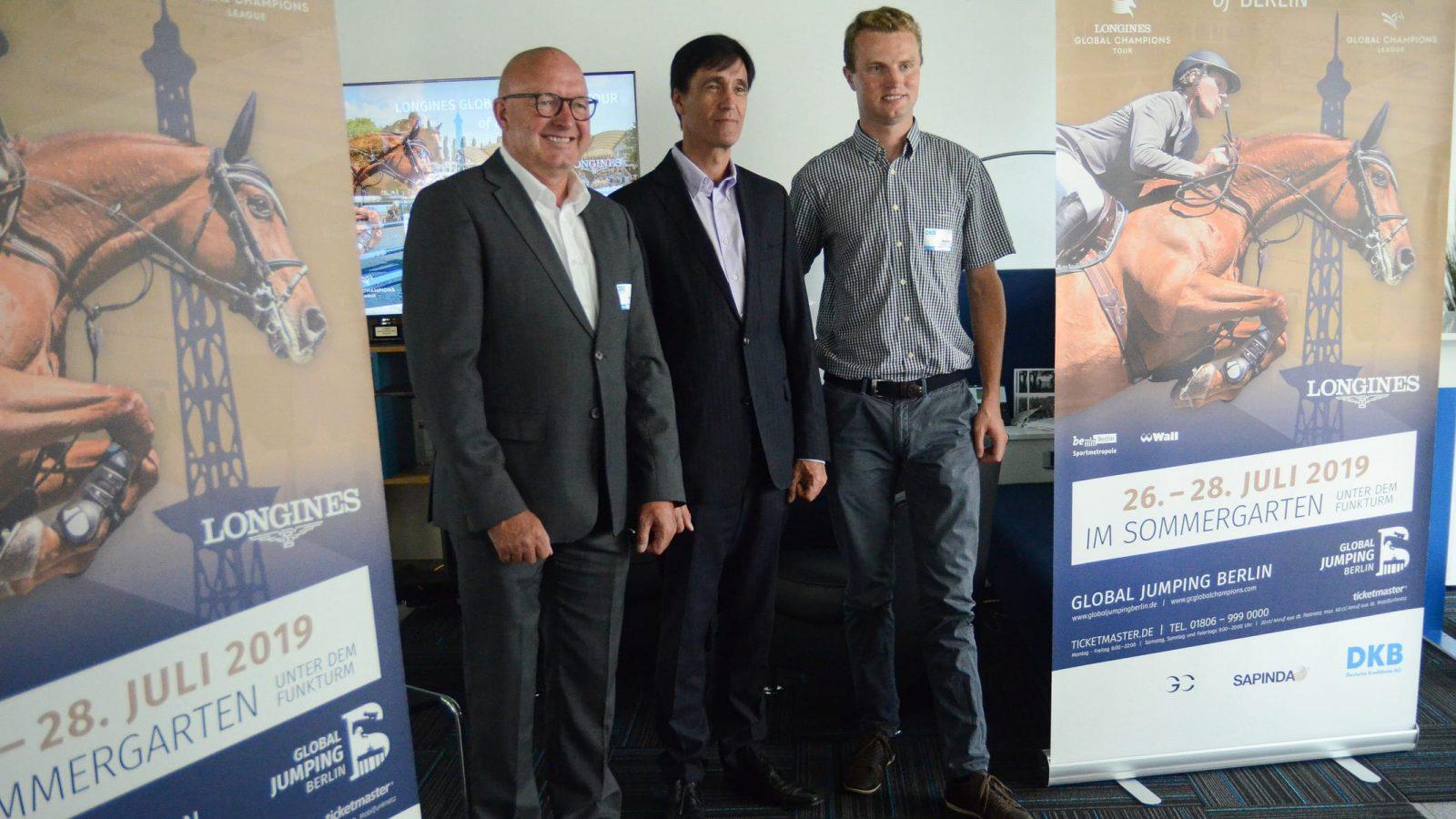 Global Jumping Berlin: 1 Million Preisgeld für die Springelite