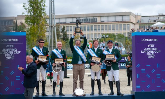 Sieg für Irland im LONGINES FEI Jumping Nations Cup – Final