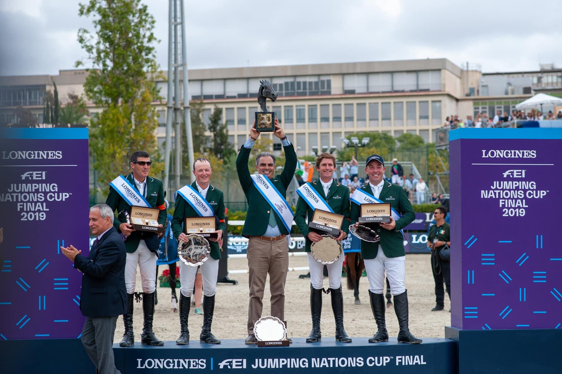 Sieg für Irland im LONGINES FEI Jumping Nations Cup – Final