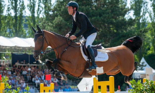 Scott Brash und Hello M'Lady siegen in Verona