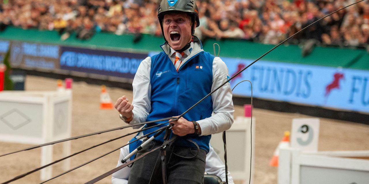Rückblick auf die Partner Pferd 2020: Bram Chardon mit grandiosem Sieg im FEI Driving World Cup