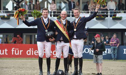 Tobias Meyer im Glück: Er ist Deutscher Meister der Springreiter 2021