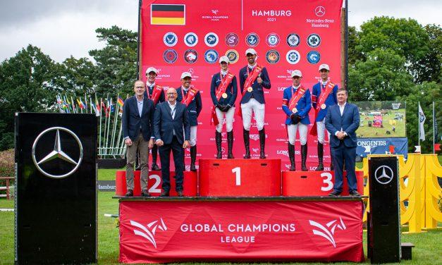 Global Champions League of Hamburg – Paris Panthers siegen im Mercedes-Benz Preis von Hamburg