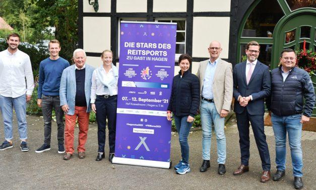 FEI Dressage European Championships 2021 Hagen am Teutoburger Wald – die erste Pressekonferenz