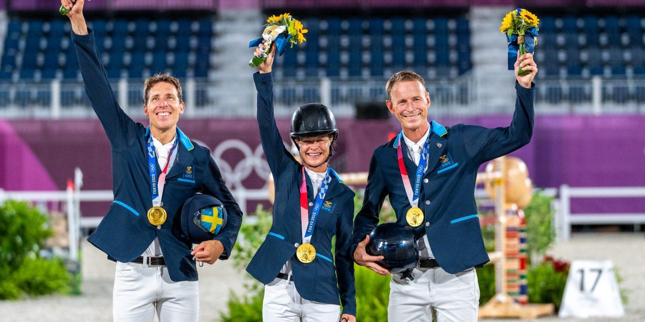 Olympia Tokio 2021 – Hochverdient: Gold für das schwedische Team!