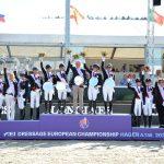 FEI Dressage European Championship 2021 – Das  25. Teamgold für Deutschland