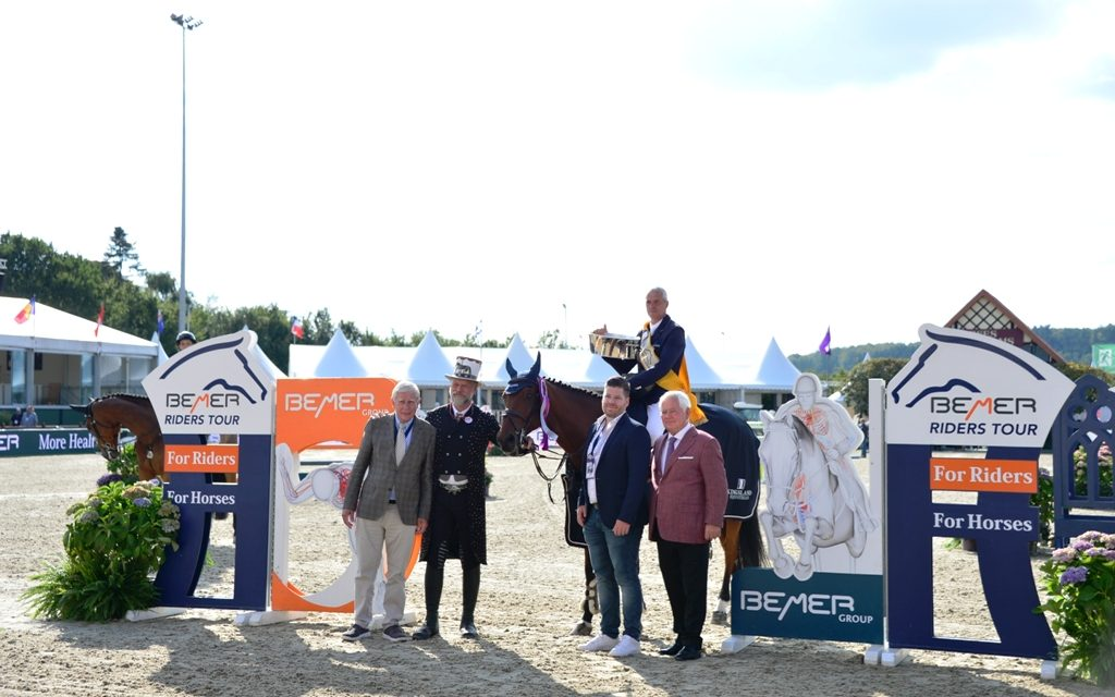 Die 5.Etappe der BEMER Riders Tour bei den FEI Dressage European Championships Hagen 2021