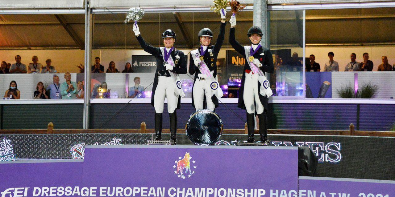 FEI Dressage European Championship 2021 Grand Prix Special – Jessica von Bredow-Werndl ist Europameisterin